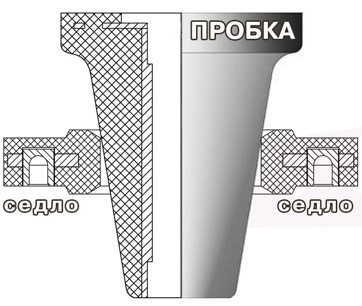 Седло резиновое для пробок ∅ 100, 200, 270, 370