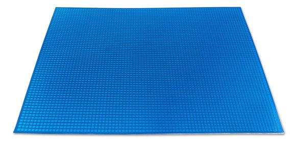 Синий полиуретановый ковер